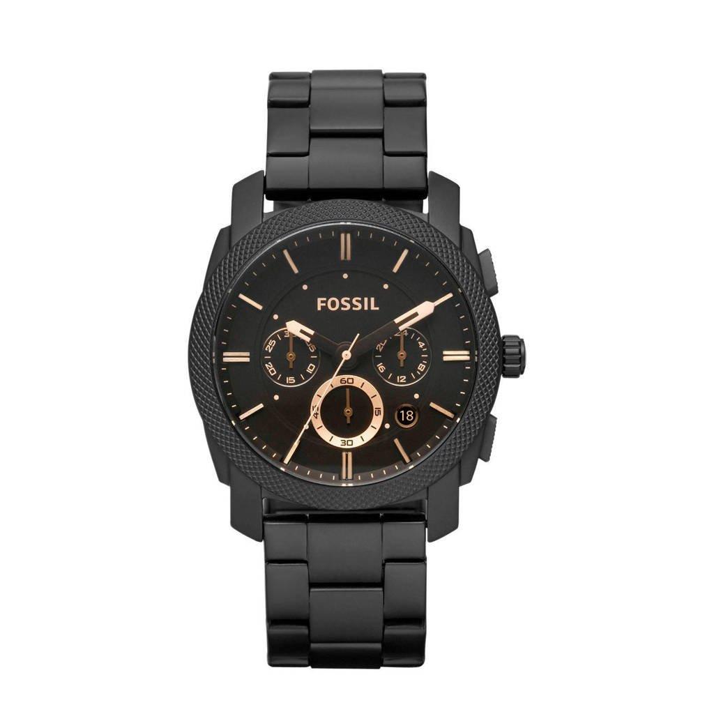 Fossil Machine Heren Horloge FS4682, Zwart