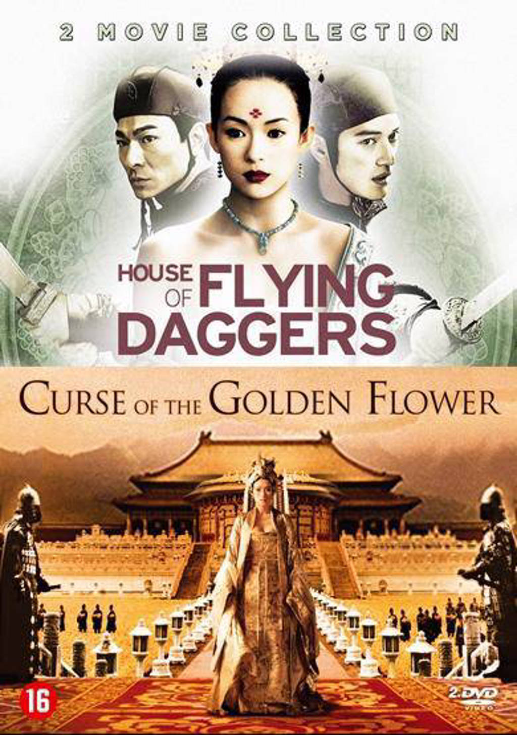 Curse of the golden flower/House of flying daggers (DVD)