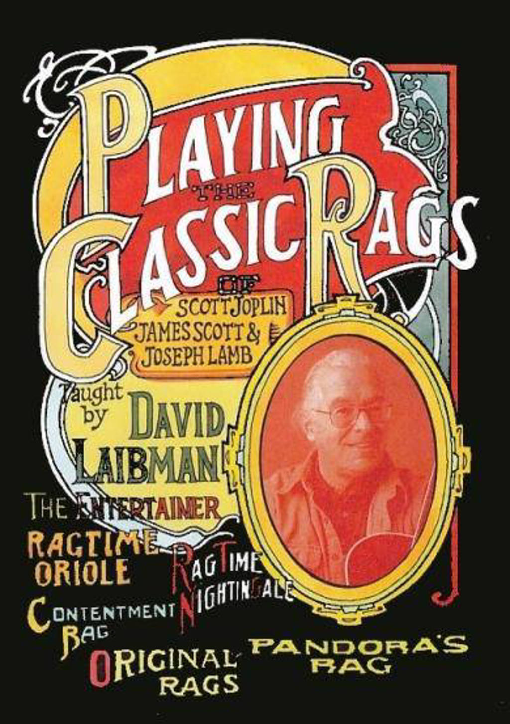 David Laibman - Playing The Classic Rags Of Joplin, (DVD)
