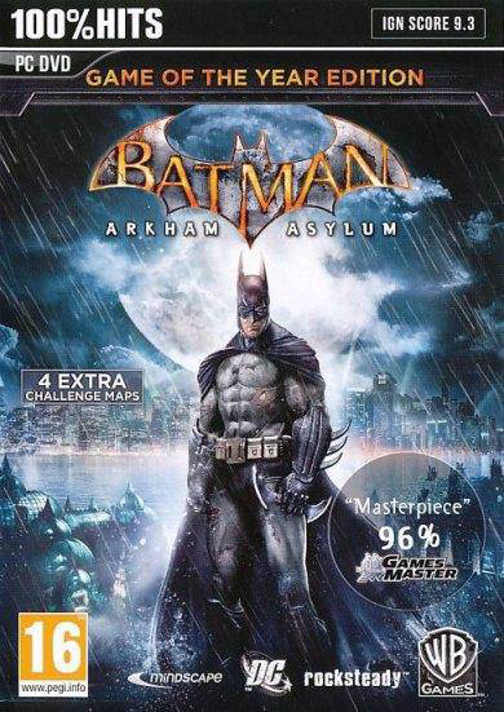 Batman - Arkam asylum (GOTY edition) (PC)