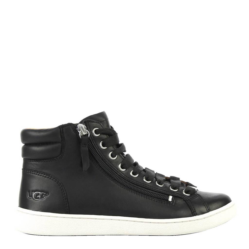 UGG  leren sneakers, Zwart
