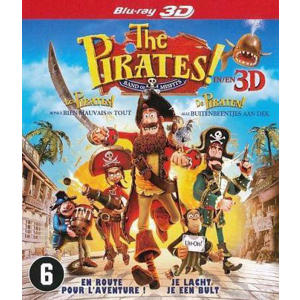 Pirates - The band of misfits (3D) (Blu-ray)