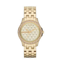Armani Exchange Lady Hampton Dames Horloge AX5216, Goud