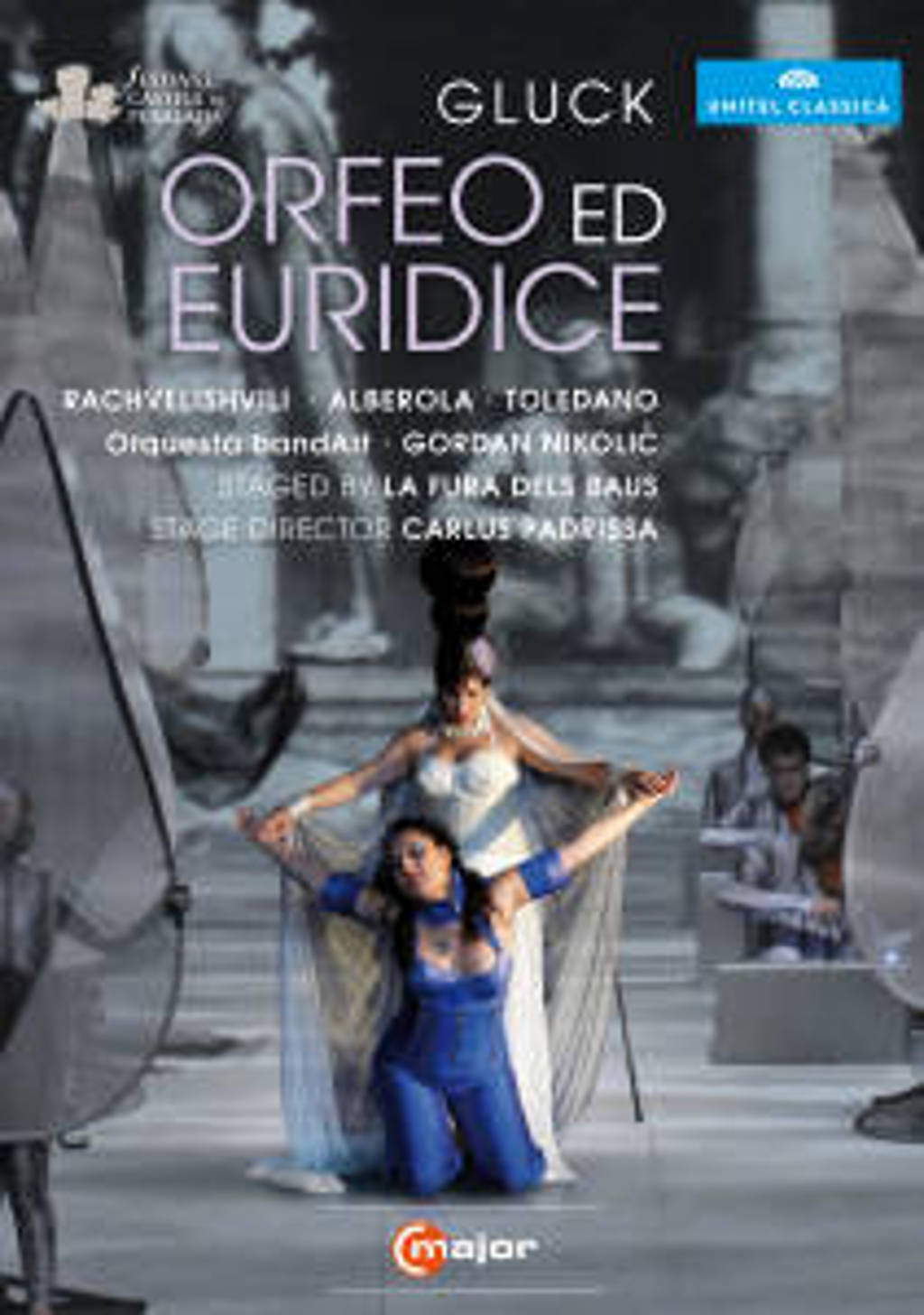 Rachvelishvili,Alberola,Toledano - Orfeo Ed Euridice, Festival Castell (DVD)