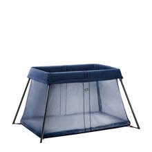 campingbedje marine blauw
