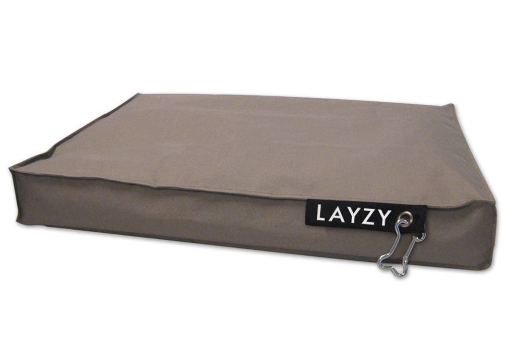 Layzy Hondenkussen M, Taupe