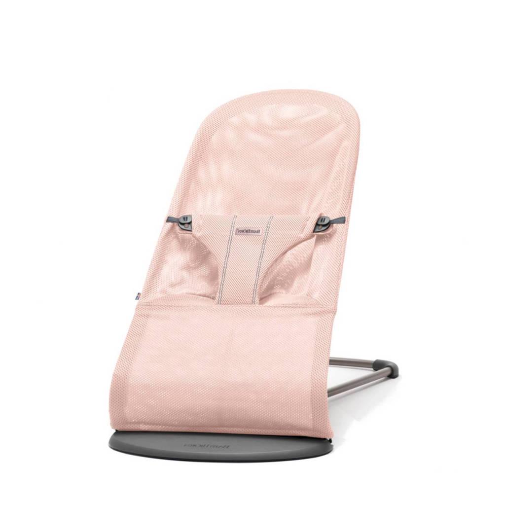 BabyBjörn Bliss Mesh wipstoel poederroze, Poederroze, 100% luchtdoorlatend polyester