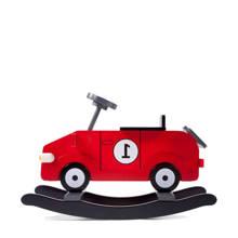 schommelauto rood