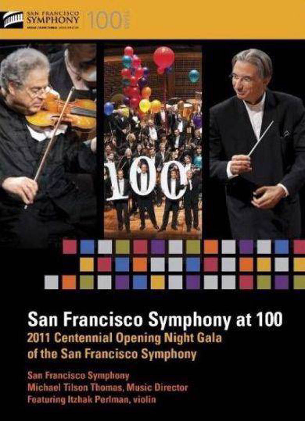San Francisco Symphony/Perlman - Billy The Kid/Violin Concerto In E (Blu-ray)