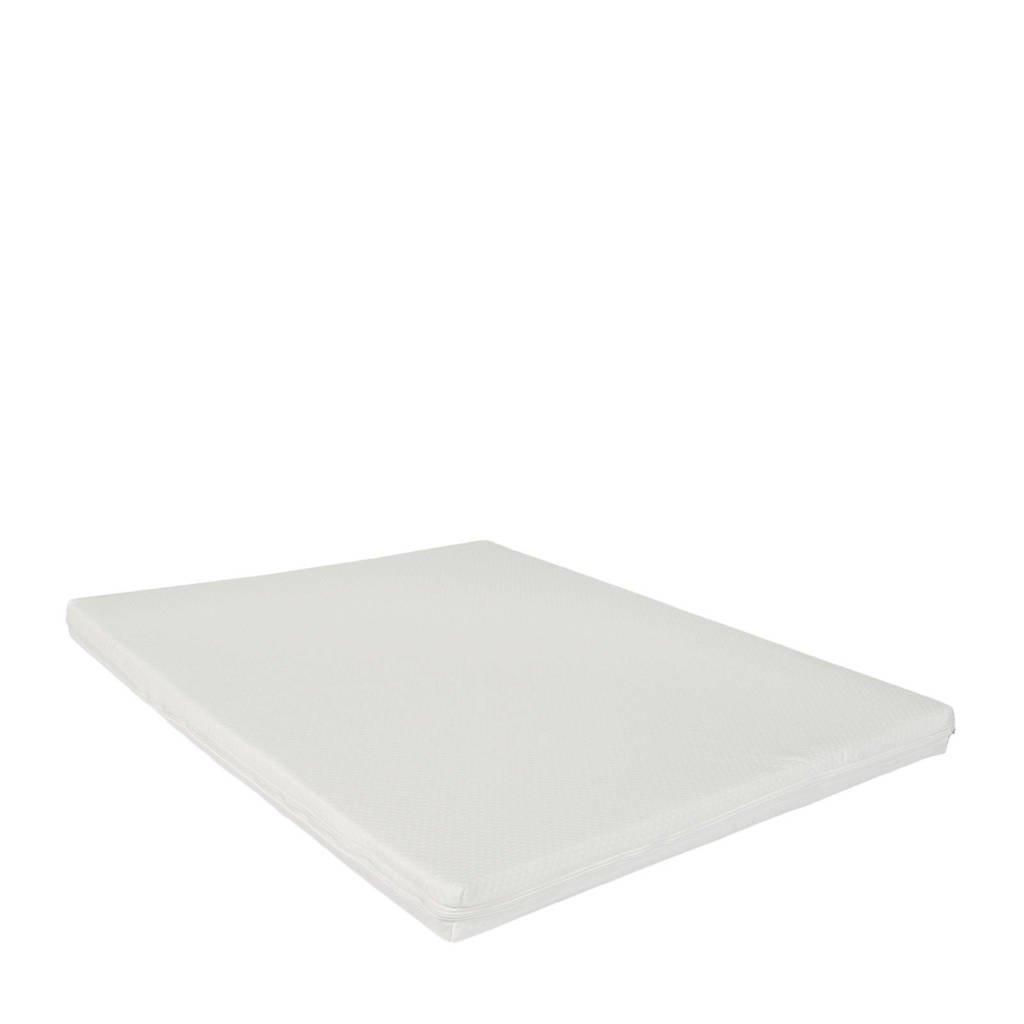 ABZ boxmatras 75x95x5 cm (75x95 cm), Wit