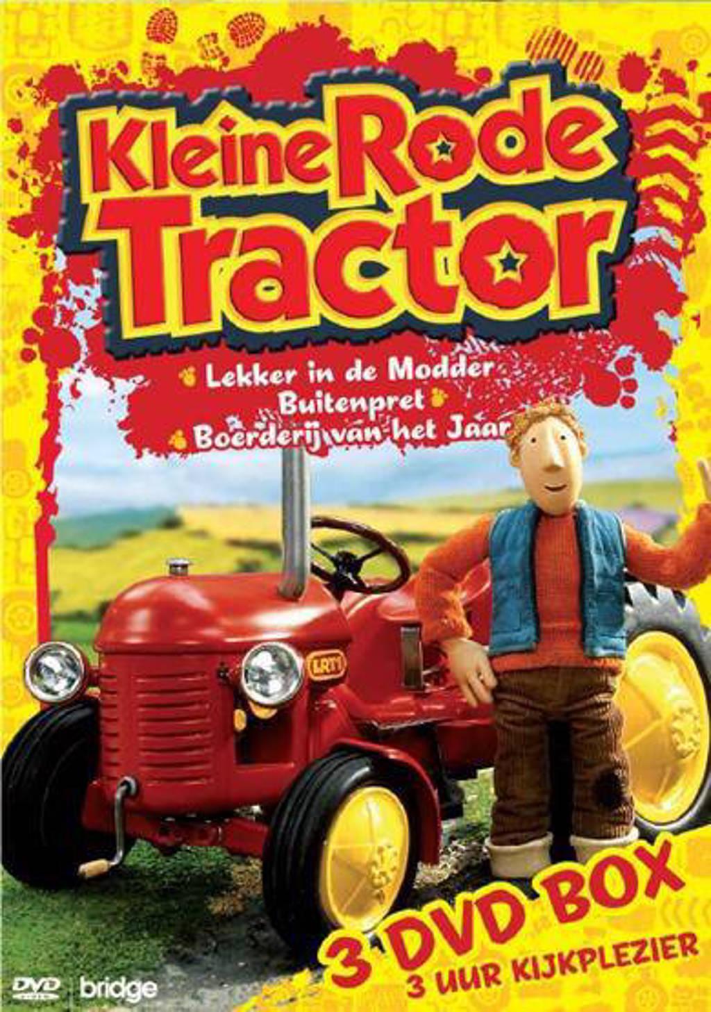 Kleine rode tractor box (DVD)