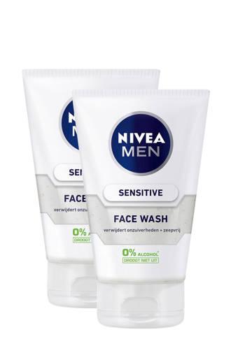 FOR MEN Sensitive reinigingsgel (2 stuks)