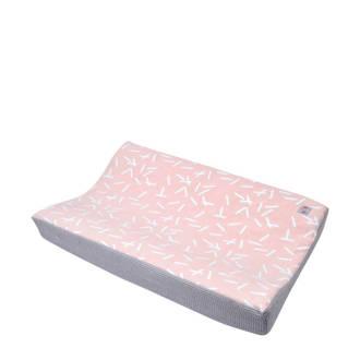 Changer aankleedkussenhoes honeycomb blush