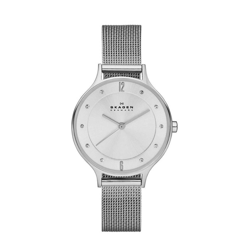 Skagen Anita Dames Horloge SKW2149, Zillver
