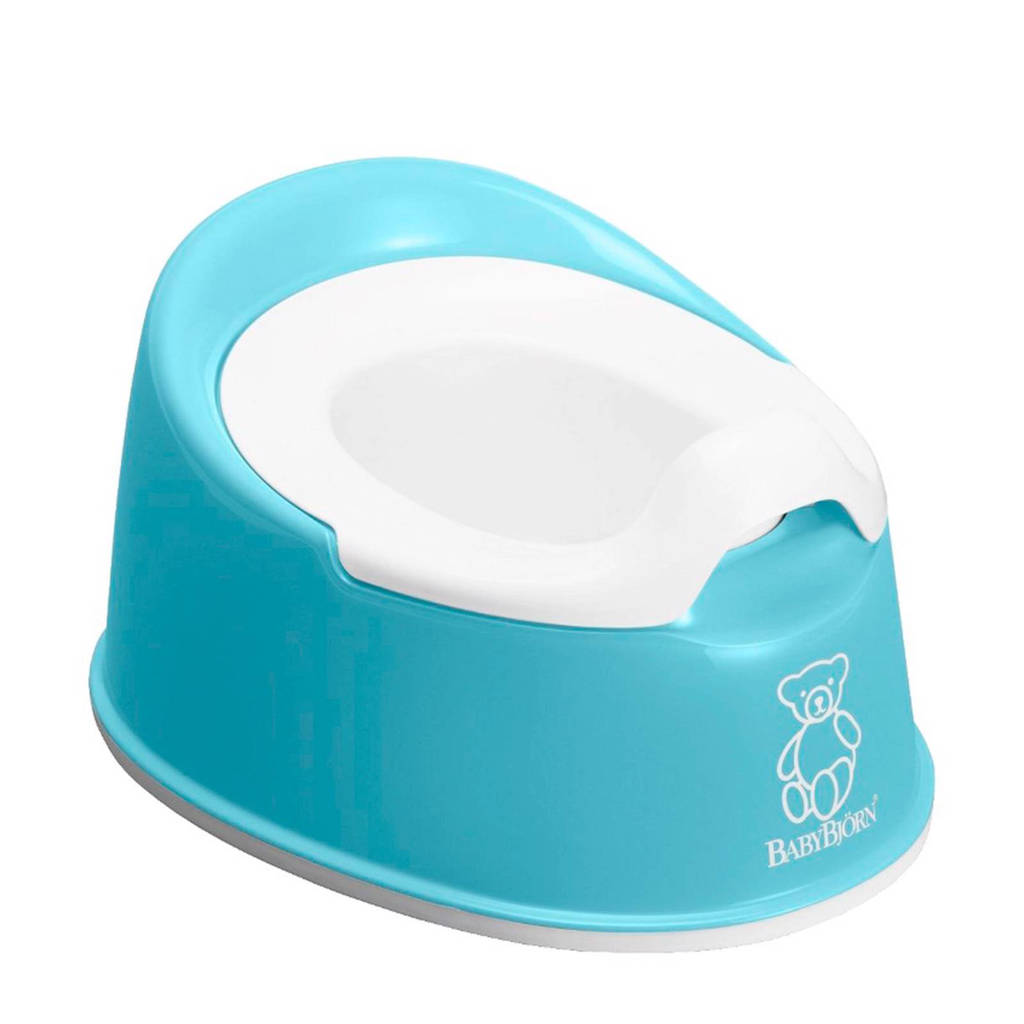 BabyBjörn pienter potje turquoise, Turquoise