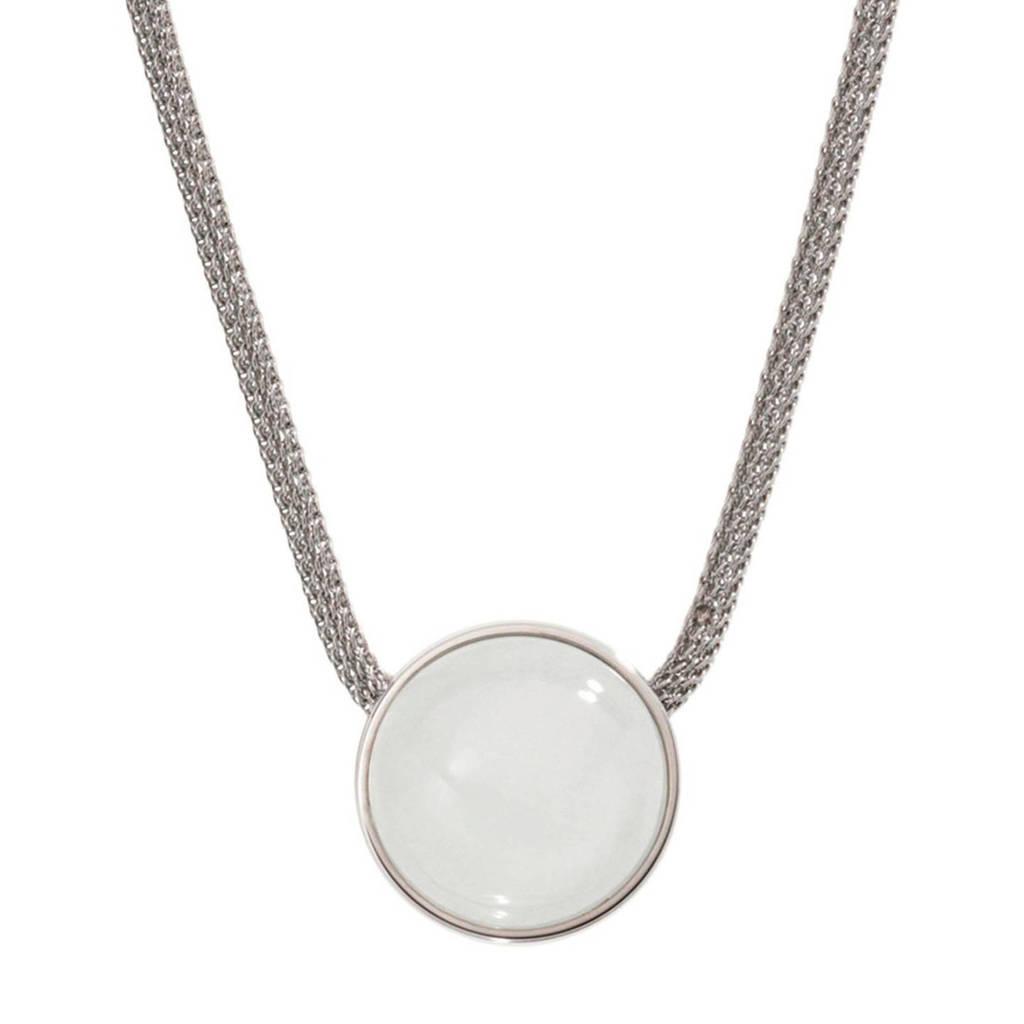 Skagen Sea Glass Dames Collier SKJ0080040, Zilver