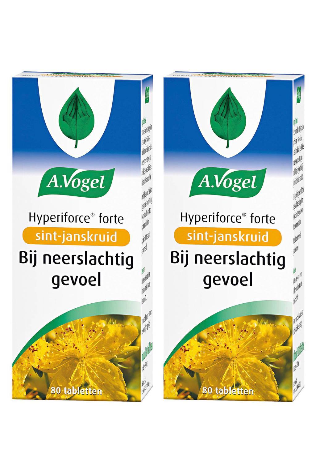 A.Vogel Hyperiforce forte met sint-janskruid - 2x 80 tabletten