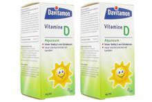 Davitamon D Aquosum druppels - 2 x 25 ml