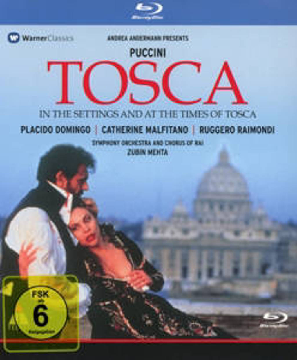 Andrea Andermann - Puccini: Tosca (DVD)