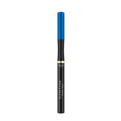 Loreal Paris Super Liner Perfect Slim eyeliner Blauw Stuk