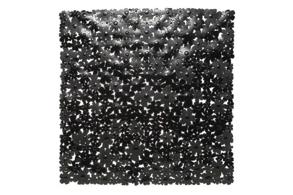 Sealskin anti-slip mat Flor (54x54 cm), Zwart