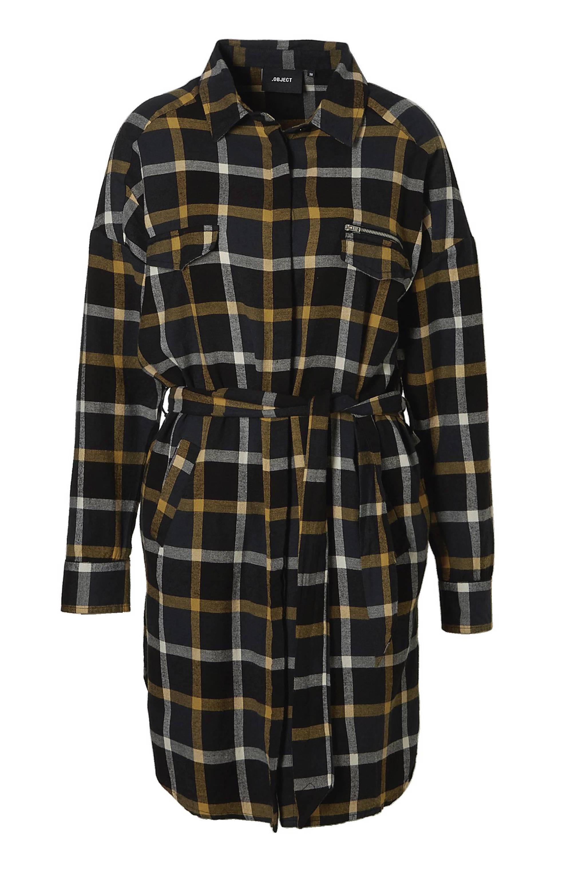 0fae8f4dd43891 OBJECT geruite oversized blousejurk