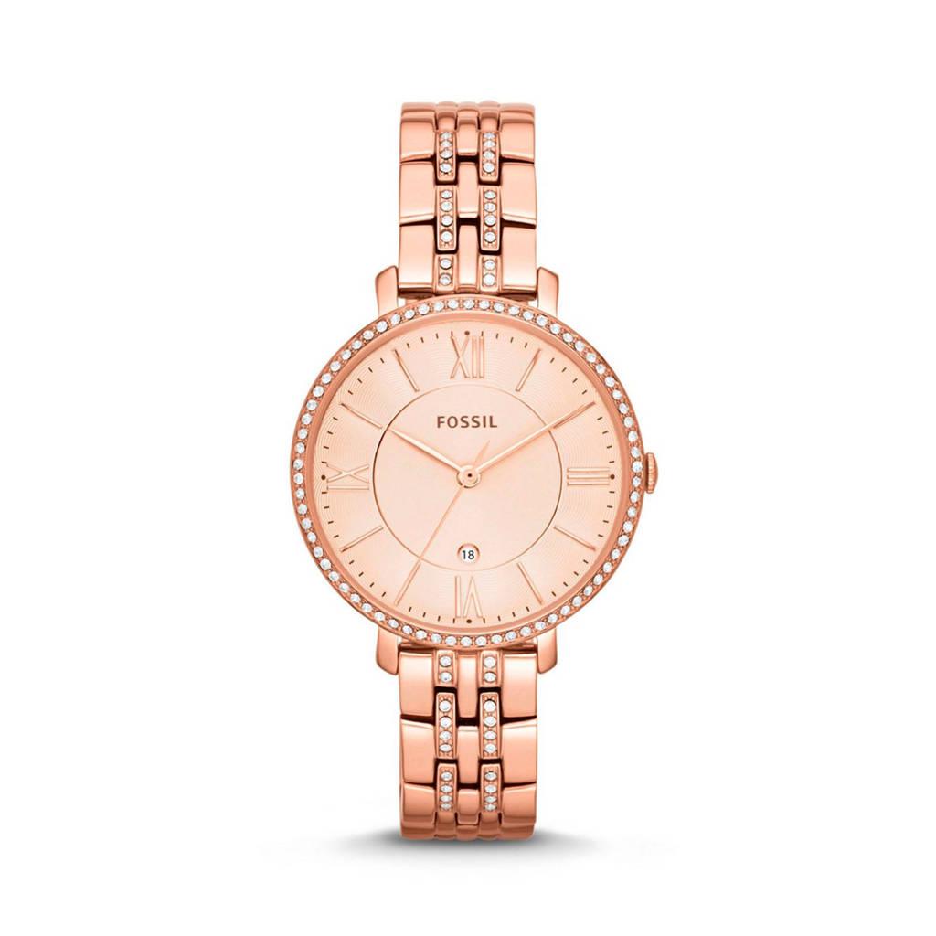 Fossil Jacqueline Dames Horloge ES3546, Rose