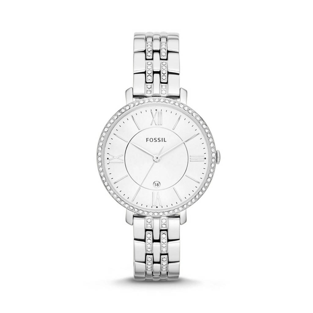 Fossil Jacqueline Dames Horloge ES3545, Zilver