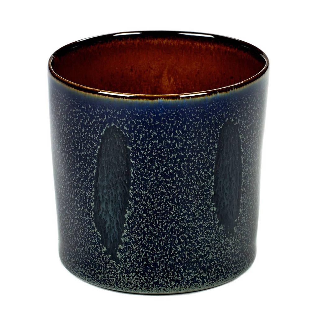 Serax Terres De Rêves kopje (Ø7,5 cm), Dark Blue