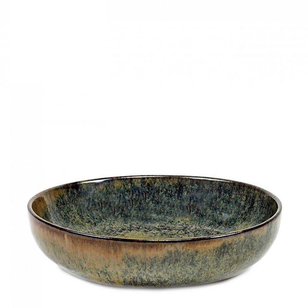 Serax Surface diep bord (Ø16 cm), Indi Grey