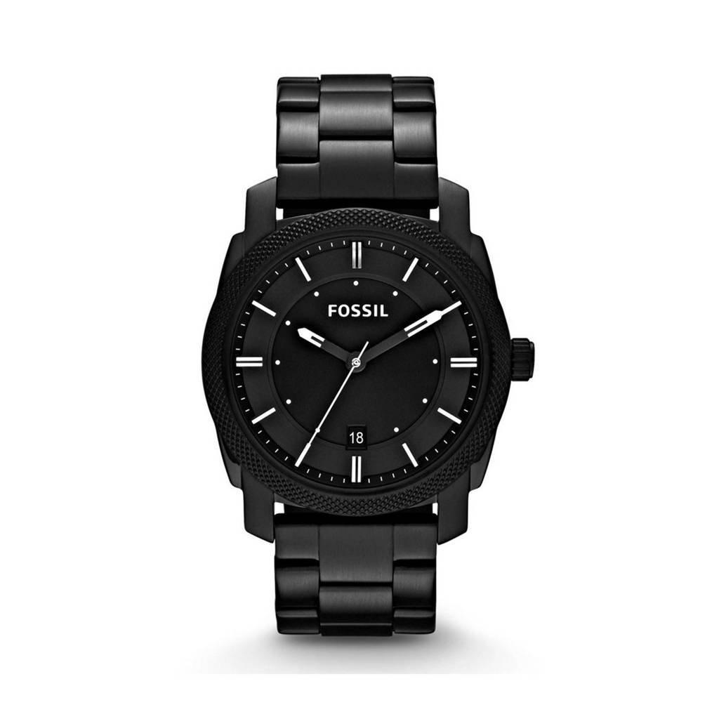 Fossil horloge Machine FS4775 zwart, Zwart
