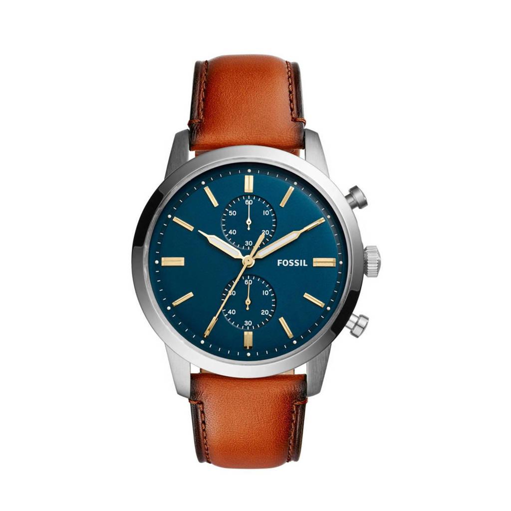 Fossil chronograaf horloge, Zilver