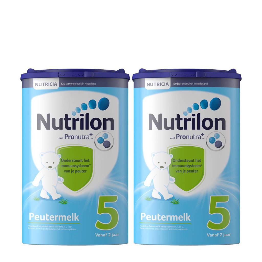 Nutrilon Peutermelk 5 met Pronutra (2-pack)
