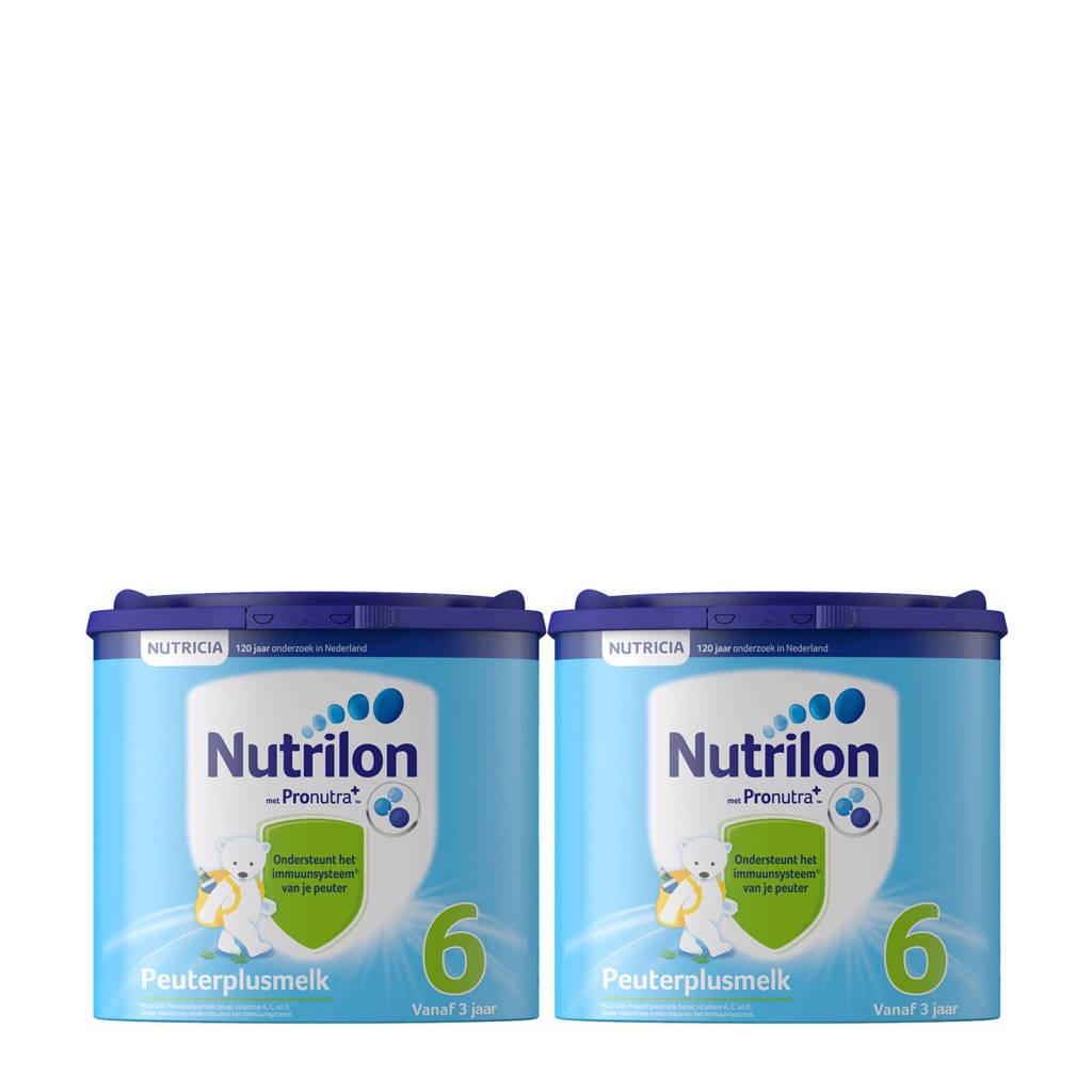 Nutrilon PeuterPlus melk 6 met Pronutra (2-pack)