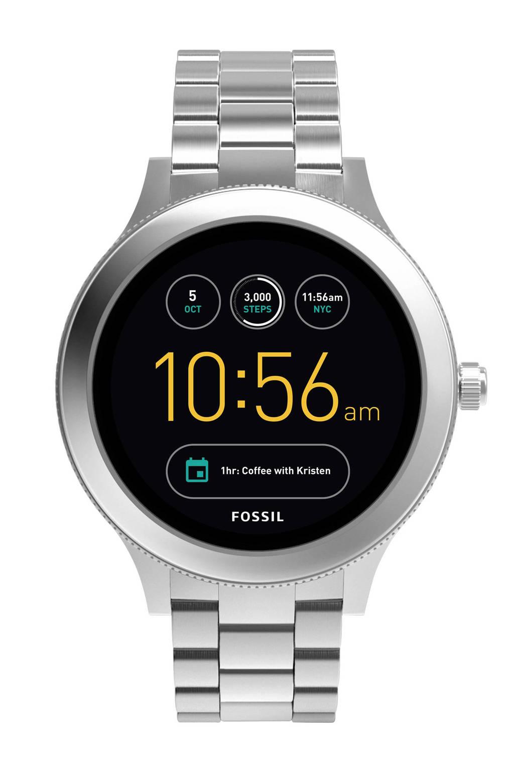 Fossil Q Venture smartwatch, Zilver