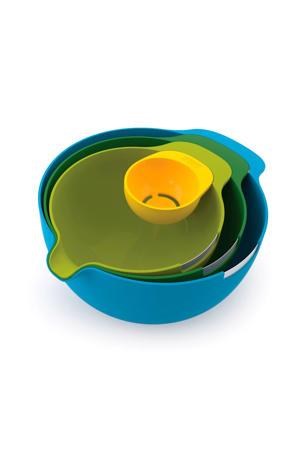 Keukenhulp Nest 4 Multifunctionele Schalenset met eigeelschijder