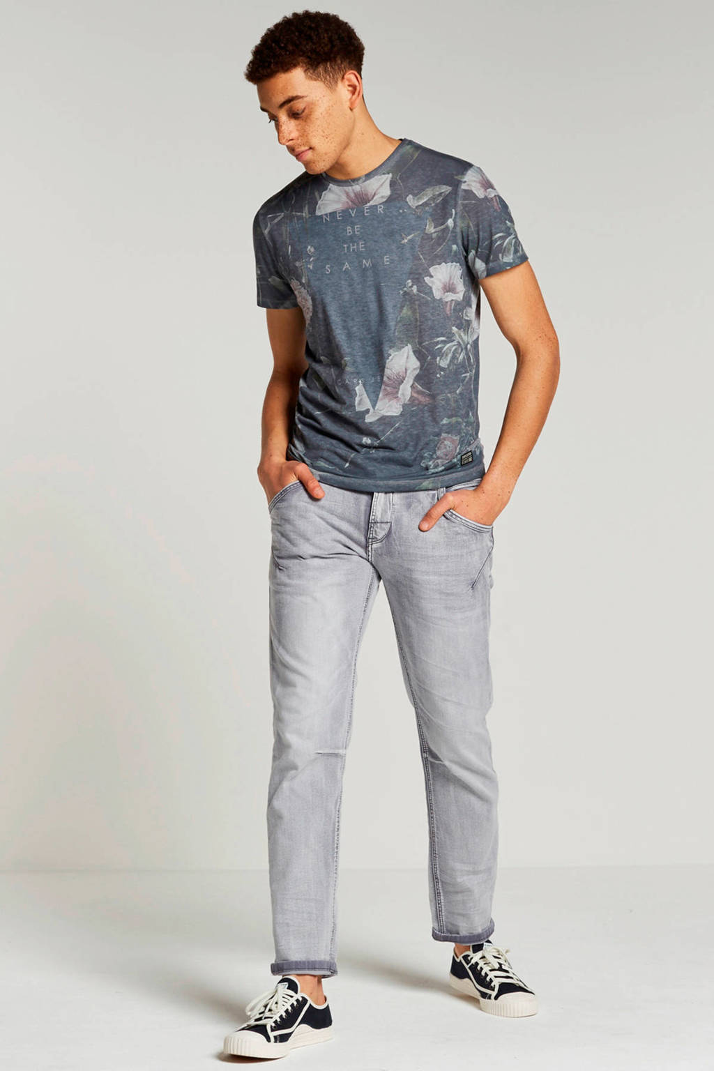 Cars Loyd tapered fit jeans, Grey used
