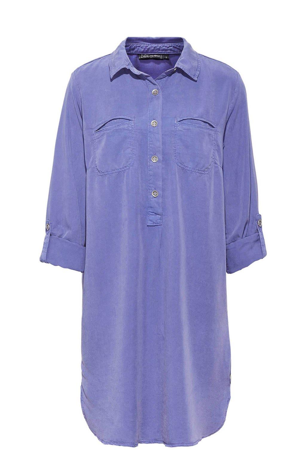Didi blousejurk, Lavendelblauw