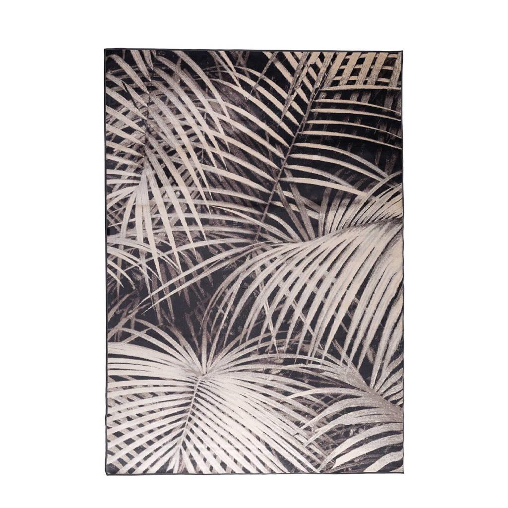 Zuiver vloerkleed Palm By Night  (300x200 cm), Zwart/wit