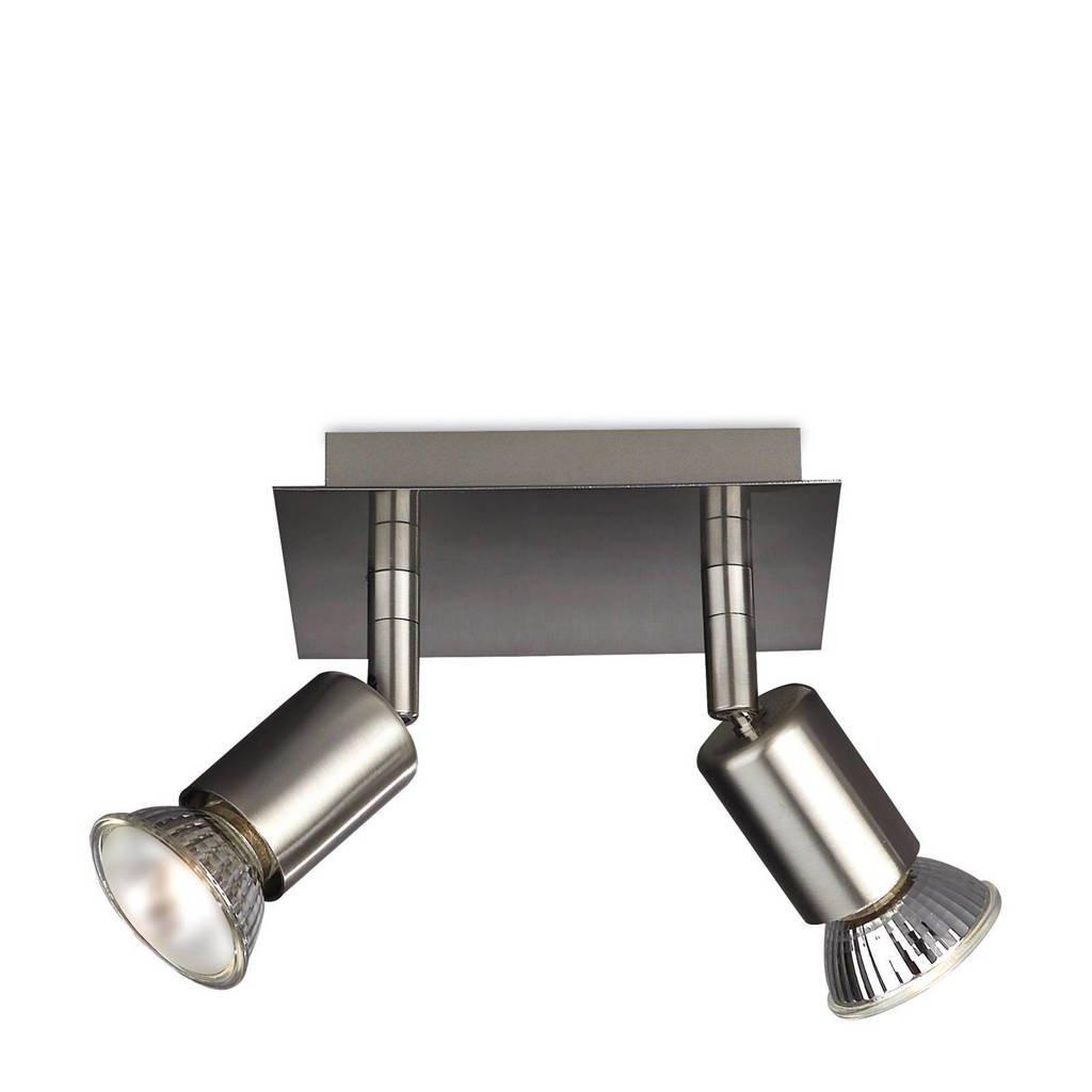 Philips plafondlamp Carrea, Chroom