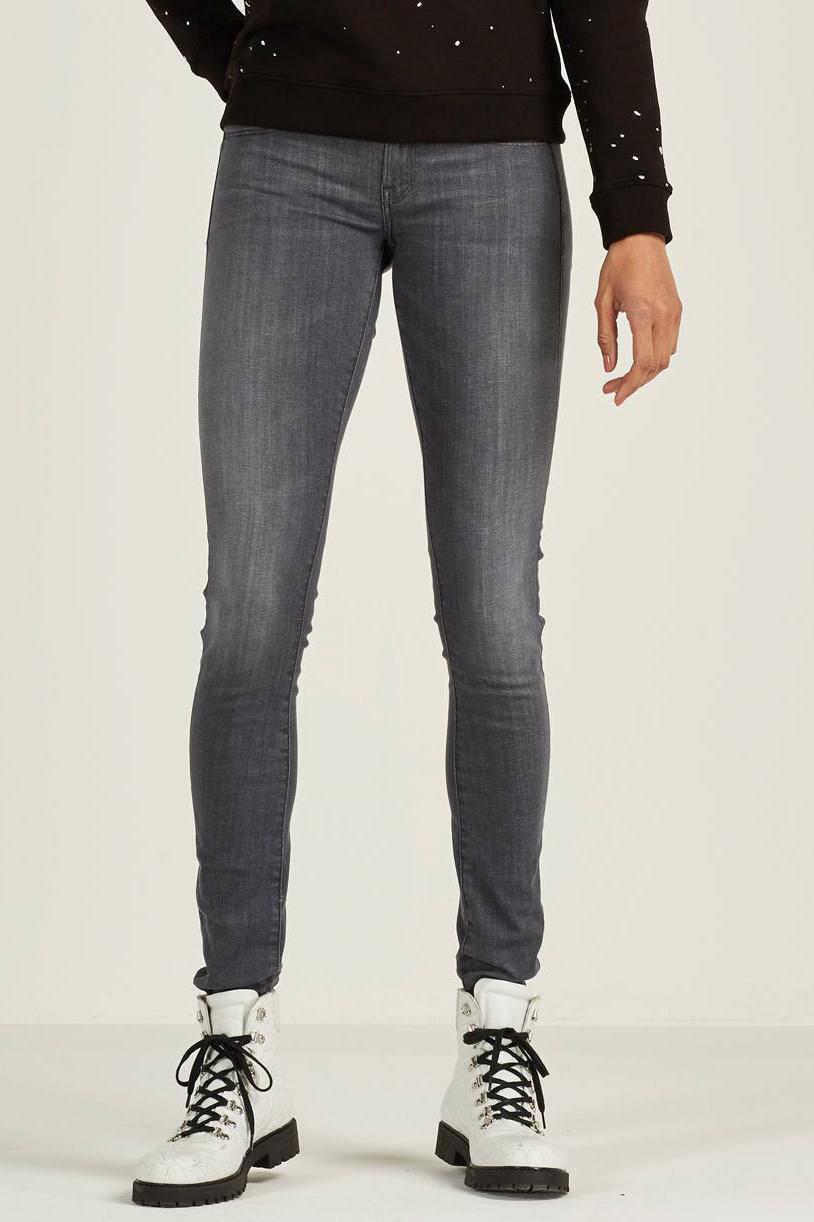 G Star RAW skinny jeans Lynn grijs | wehkamp