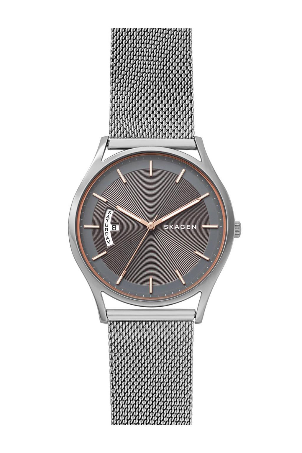 Skagen analoog horloge, Zilver