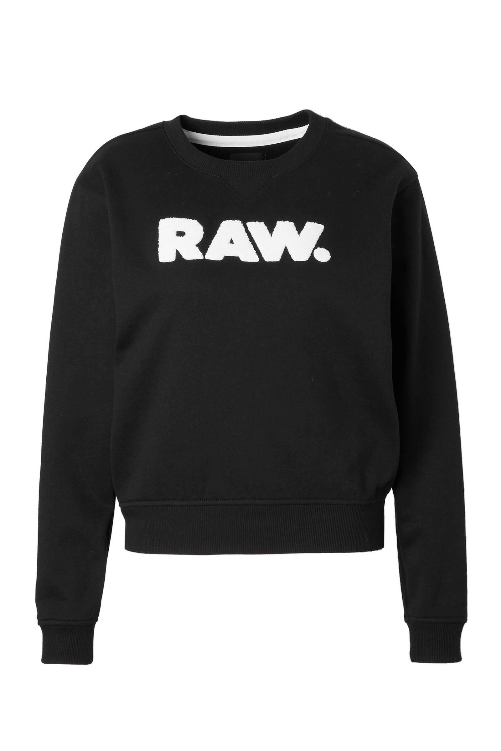 G Star|Dark Black|Core Boyfriend Sweater|G Star Online Shop