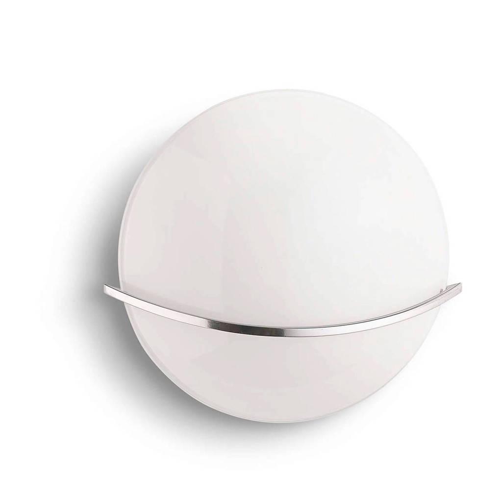 Philips wandlamp Buckeye, Wit/grijs