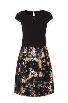 Women Collection jurk met foil print