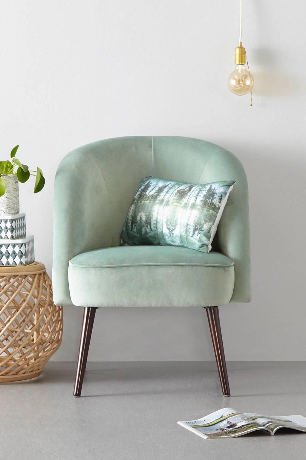 whkmp's own fauteuil Marilyn velours, Mintgroen