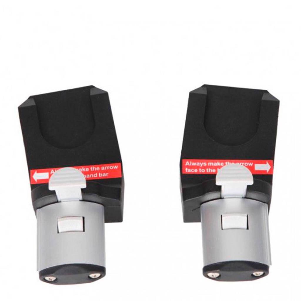 Topmark 2 Combi adapter voor Maxi-Cosi, Zwart