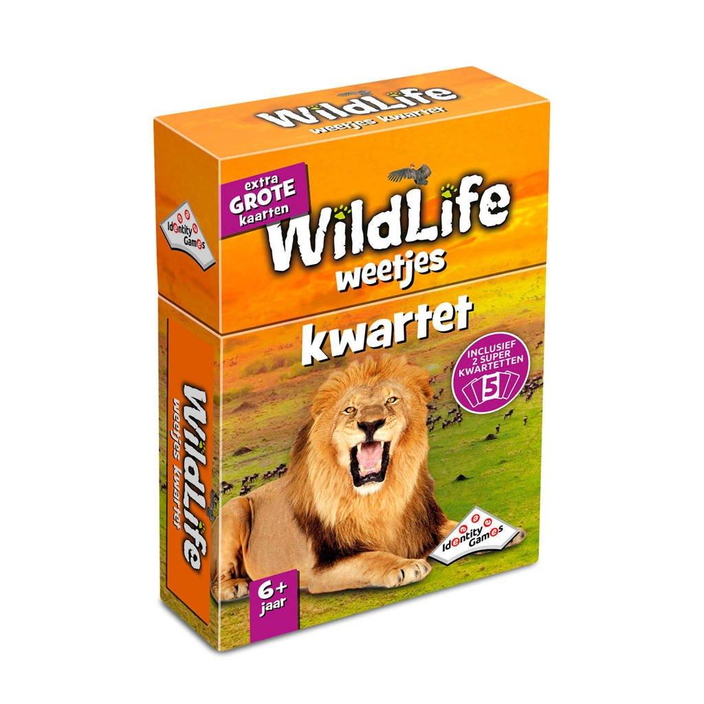 Identity Games Wildlife weetjes kwartet kaartspel