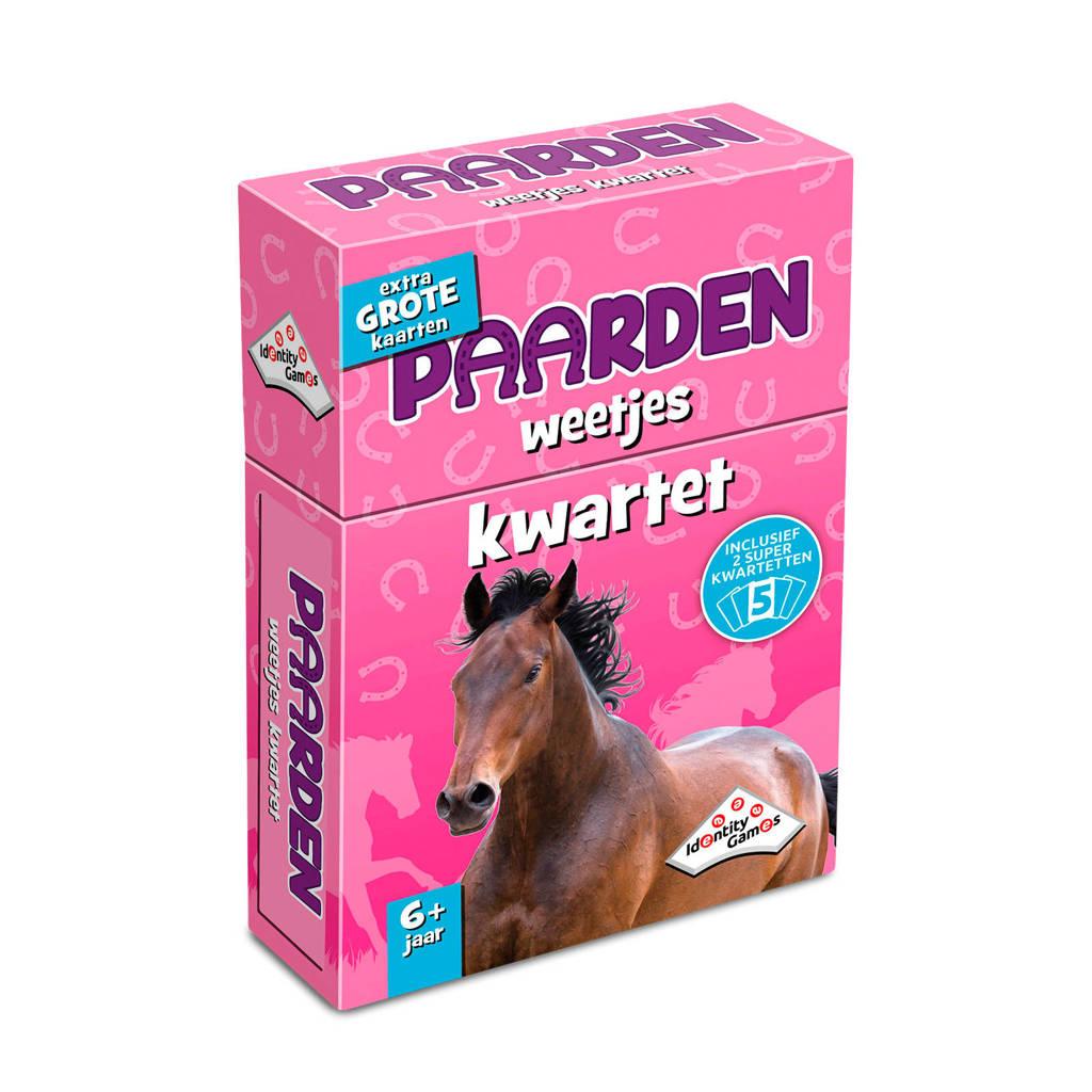 Identity Games Paarden weetjes kwartet kaartspel