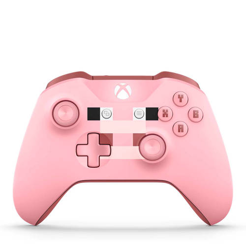 Microsoft Xbox One Wireless Controller (bluetooth) (Minecraft Pig)